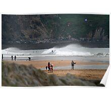 Bantham Beach, Devon Poster