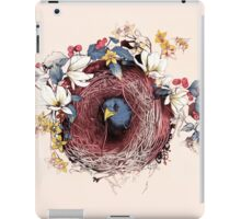 Nesting - Another Bird Has Found It's Nest iPad Case/Skin