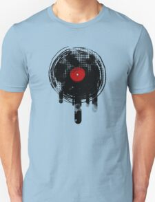 Melting Vinyl Records Vintage T-Shirt