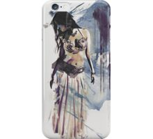 Bellydancer Abstract iPhone Case/Skin
