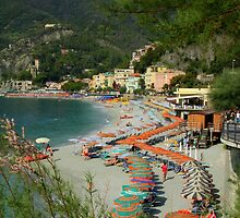 Monterosso Beach by Camilla
