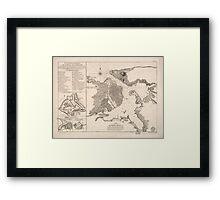 Havana Bay 1762 Framed Print