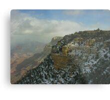 El Tovar Grand Canyon Winter Metal Print