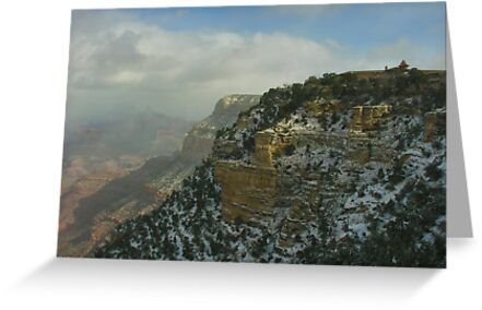 El Tovar Grand Canyon Winter by LizzieMorrison