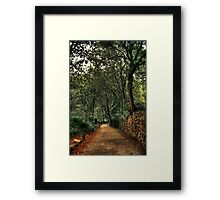 What now, love? Framed Print