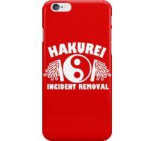 Hakurei Incident Removal iPhone Case/Skin
