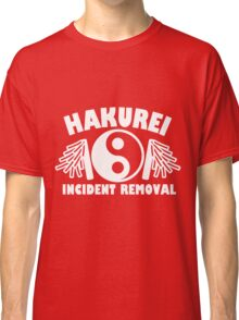 Hakurei Incident Removal Classic T-Shirt