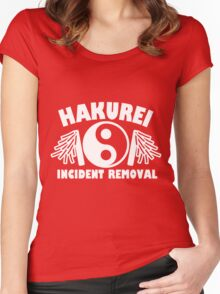 Hakurei Incident Removal Women's Fitted Scoop T-Shirt