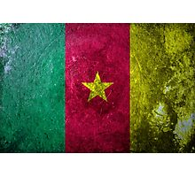 Cameroon Grunge Photographic Print