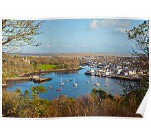 Stornoway harbour, Isle of Lewis Poster