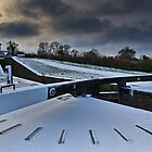 Top Lock Cottage - Foxton Locks. UK by David Lewins