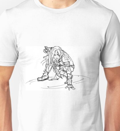 Dragonborn comes- sketch version Unisex T-Shirt