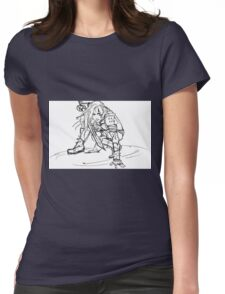 Dragonborn comes- sketch version Womens Fitted T-Shirt