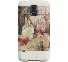Cecily Parsley's Nursery Rhymes Beatrix Potter 1922 0012 Cecily Parsely Brewed Good Ale Samsung Galaxy Case/Skin