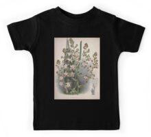 Iconagraphy of Orchids Iconographie des Orchidées Jean Jules Linden V4 V5 1893 0167 Kids Tee