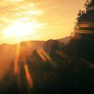 Sunset on Zhangjiajie by Nicolas Noyes