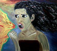 Anger!! by Silvia de Caceres