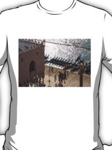 Doge's Palace - Long Shadows and Brilliant Waters From Above T-Shirt
