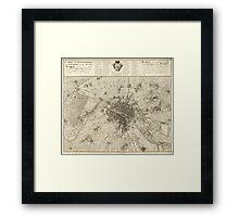 Paris 1737 Framed Print