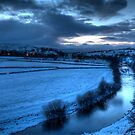 River Ure with Bainbridge  by NSQPhotography