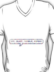 EAT SLEEP TUMBLR REPEAT T-Shirt