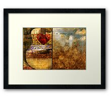 The Heart of Worship Framed Print
