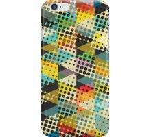 Dots and Triangles II iPhone Case/Skin