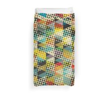 Dots and Triangles II Duvet Cover