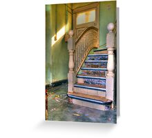Upstairs - Downstairs Greeting Card
