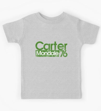 Jimmy Carter Mondale 1976 Kids Tee
