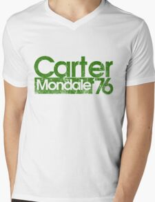 Jimmy Carter Mondale 1976 Mens V-Neck T-Shirt