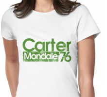 Jimmy Carter Mondale 1976 Womens Fitted T-Shirt