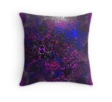 Pink, Purple, Blue, White and a bit of Red Throw Pillow