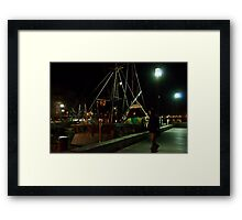 Dead of night Framed Print