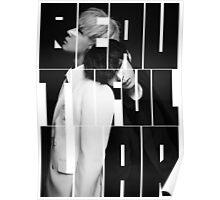 VIXX LR 'Beautiful Liar' Typography Poster
