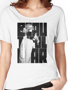 VIXX LR 'Beautiful Liar' Typography Women's Relaxed Fit T-Shirt