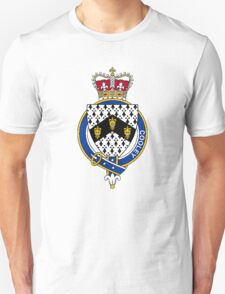 Coat of arms (family crest) for last-name or surname Cooley (Ireland) . Heraldry banner for your name. T-Shirt