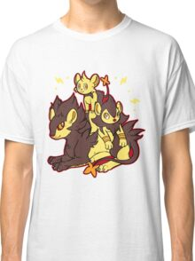 Pile of Electric Lions (Shiny Version) Classic T-Shirt