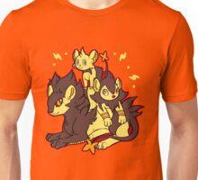 Pile of Electric Lions (Shiny Version) Unisex T-Shirt
