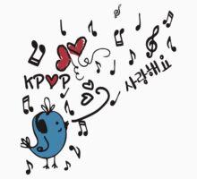 LOVE  KPOP BLUE BIRD by cheeckymonkey