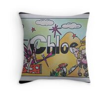 Chloe personalised picture Throw Pillow