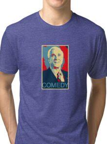 Leslie Nielsen: Comedy Genius Tri-blend T-Shirt