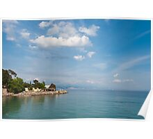 Peaceful Adriatic coast. Opatija  Poster