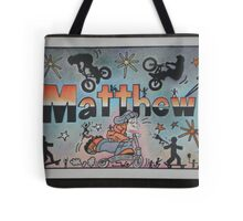 Matthew personalise pic Tote Bag