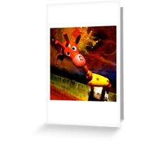 G. Raffe - Loves Art! Greeting Card