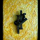 Encaustic Construct 1 by Cara Schingeck
