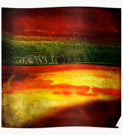 Horizontal Rainbow Poster