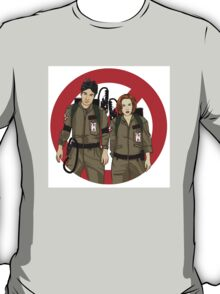 Ghostbusters Files - Mulder & Scully T-Shirt