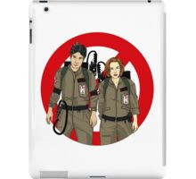 Ghostbusters Files - Mulder & Scully iPad Case/Skin