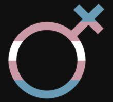 Transfemale Gender Glyph by Delia Gonzales